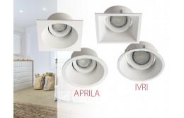 APRILA и IVRI - декоративные точечные светильники