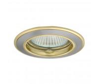 Светильник точечный CTC-5514-SN/G BASK (2813)