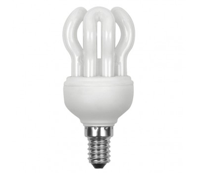 Лампочка люминисцентная BH4-9X E14/K SUPERSHAPE (10500)