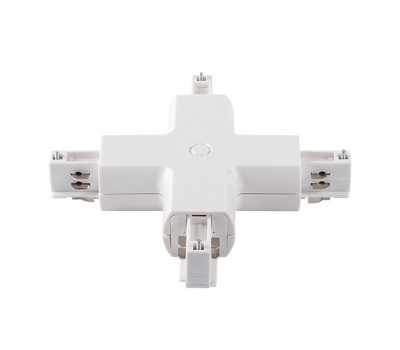 Соединитель для шинопровода типа Х TEAR PR-X-WH (22591)
