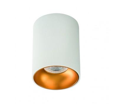 Светильник потолочный RITI GU10 W/G (27570)