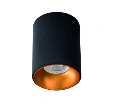 Светильник потолочный RITI GU10 B/G (27571)