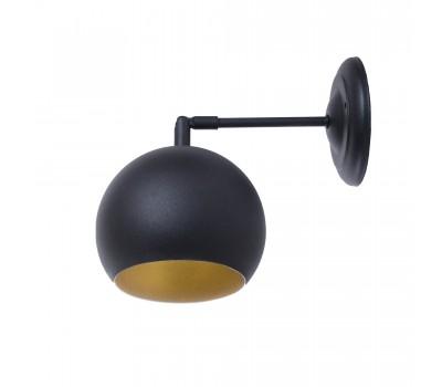 Светильник настенно-потолочный Bowl W150 BlackM/Gold