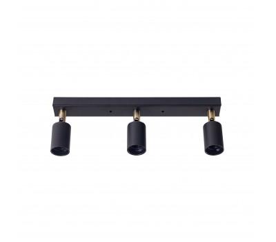 Светильник настенно-потолочный Chime L60-3 Black